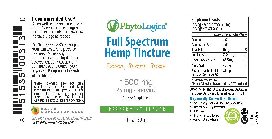 Full Spectrum Hemp Tincture – 1500 mg Image 1