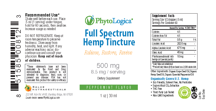 Full Spectrum Hemp Tincture – 500 mg Image 1