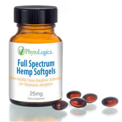 Full Spectrum Hemp Softgels Image