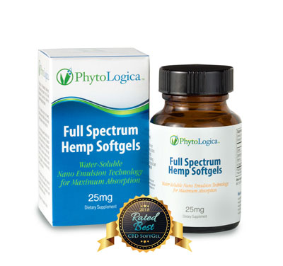 Full Spectrum Hemp Softgels – 25 mg