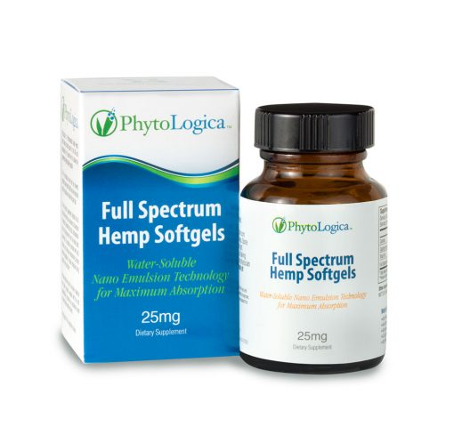 Full Spectrum Hemp CBD Oil Softgel Capsules